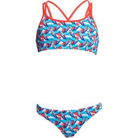 Funkita Bikini 2 Piezas Criss Cross Niñas, Multicolor